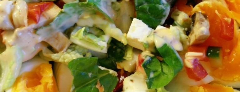 Salat kan nytes hele året