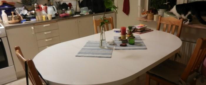 Bordet 'utslått'