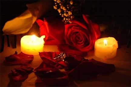 rosescandles